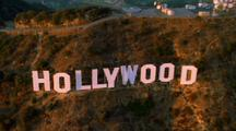 Aerial Hollywood Sign