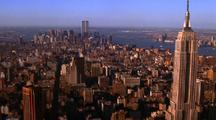 Aerial New York Cityscape