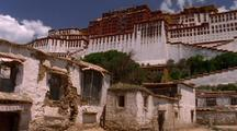 White Palace In Tibet