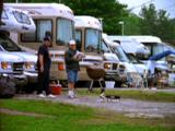 People In Rv Tailgate At Churchill Downs