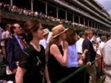 Spectators At Kentucky Derby