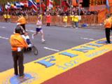 Man Pushing Son In Wheelchair Crosses Marathon Finish Line