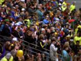 Crowd Cheers At Marathon
