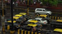 Traffic In Front Of Chhatrapati Shivaji Terminus