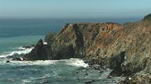 Waves Come Ashore, Big Sur Coastline