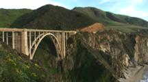 Bridge Above Rugged Coast, Big Sur