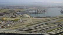 Aerial Over Oakland Shipyard