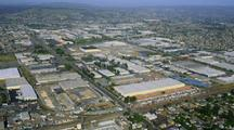 Aerial Industrial Center Of Oakland, California