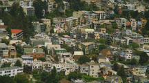 Residential Hillside In San Francisco