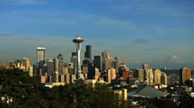 Time Lapse Of The Seattle Skyline