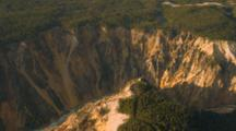 Aerial Of The Grand Canyon Of Yellowstone