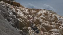 Close Up Of Mammoth Hot Springs, Yellowstone