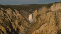 Lower Yellowstone Falls, Zoom Out