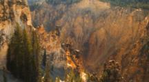 Panorama Of Grand Canyon Of Yellowstone