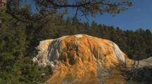 Mammoth Hot Springs Yellowstone, Zoom In