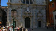 Historic Church In Venice