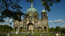 Park In Front Of Berlin Cathedral
