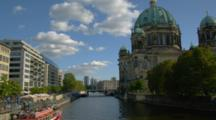 Berlin Cathedral And The Spree River
