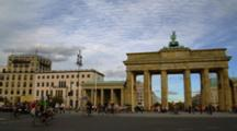 Brandenburg Gate In Berlin, Pan