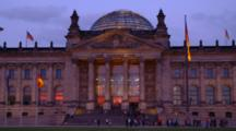 Reichstag Building In Berlin, Pan
