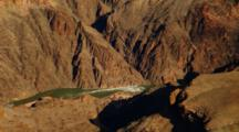 Overlook View Colorado River At Grand Canyon