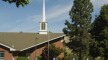 Church In Ashland, Oregon, Tilt Up Steeple