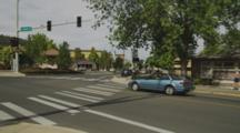 Intersection In Ashland, Oregon