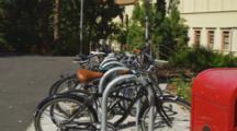 Bike Rack At University