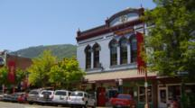 Historic Building In Downtown Ashland, Oregon