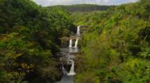 Triple Tiered Waterfall, Umauma Falls