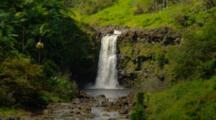 Top Of Triple Tiered Waterfall, Umauma Falls