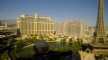 View Of Bellagio Hotel And Fountain From Planet Hollywood, Las Vegas
