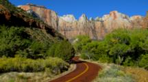 Zion, Mt Carmel Highway To East Entrance