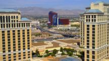 Freeway In The Las Vegas Strip Area