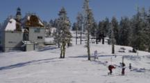 Skiers At Mt. Ashland