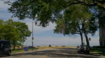 POV Driving In Chicago, Possibly Up Michigan Avenue