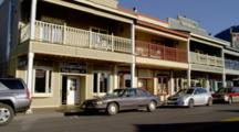 Storefronts In Town Of Jackson Wyoming