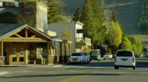 Main Street, Storefronts Of Town, Jackson Wyoming