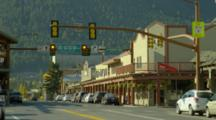 Main Street Of Town Square, Jackson Wyoming