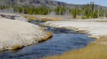 Hot Springs By Old Faithful Area, Black Sands Basin, Yellowstone