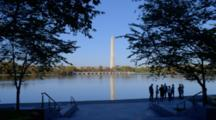View Of Washington Monument From Across Potomac River, Washington Dc
