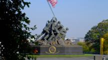 People Visit Us Marine Corps War Memorial, Washington Dc