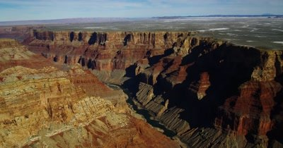 Edited Compilation: Aerial Footage Of Grand Canyon National Park