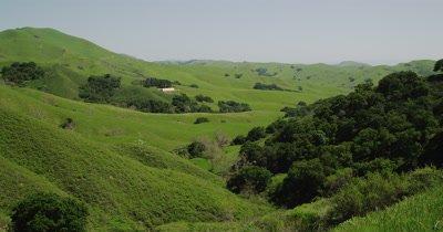 Overlooking Green Hillsides