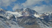 Sierra Nevada Mountains With Fresh Snow