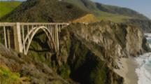 View Of Big Sur Coastline And Bixby Bridge