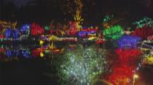 Christmas Light Show In Coos Bay, Oregon