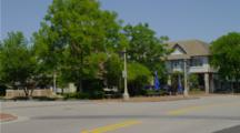 street and trees in Lake Forest, Illinois
