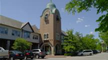 clock tower in Lake Forest, Illinois