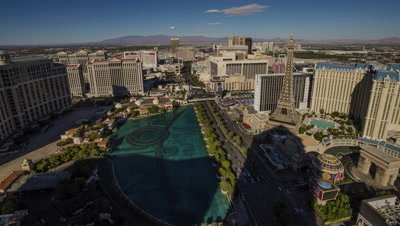 Time Lapse of Las Vegas from the Las Vegas from the Cosmopolitan Hotel